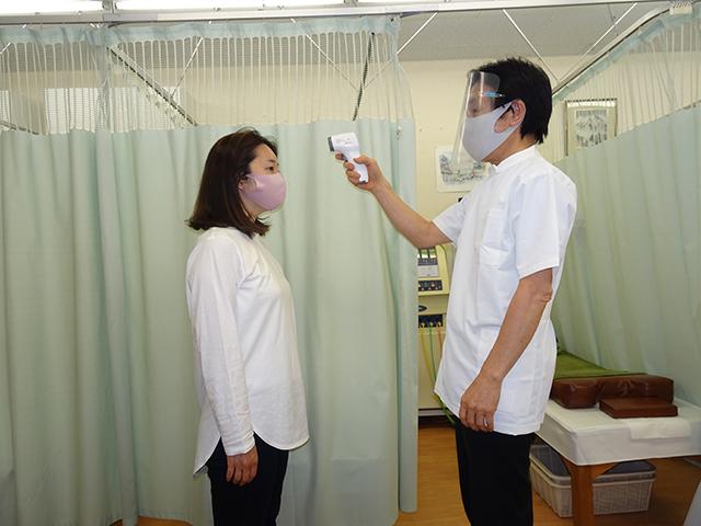 患者様の検温