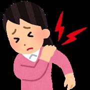 テニスの練習のしすぎで肩の筋肉が痛みます。